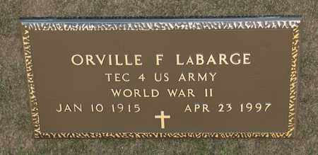 LABARGE, ORVILLE F - Richland County, Ohio | ORVILLE F LABARGE - Ohio Gravestone Photos