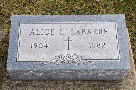 LABARRE, ALICE L - Richland County, Ohio | ALICE L LABARRE - Ohio Gravestone Photos
