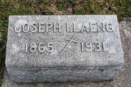 LAENG, JOSEPH I - Richland County, Ohio | JOSEPH I LAENG - Ohio Gravestone Photos