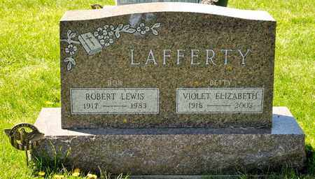 "LAFFERTY, VIOLET ELIZABETH ""BETTY"" - Richland County, Ohio 