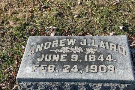 LAIRD, ANDREW J - Richland County, Ohio | ANDREW J LAIRD - Ohio Gravestone Photos