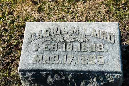 LAIRD, CARRIE M - Richland County, Ohio | CARRIE M LAIRD - Ohio Gravestone Photos