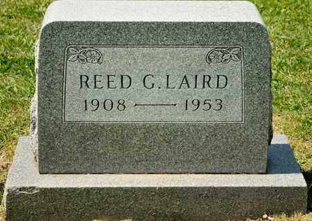 LAIRD, REED G - Richland County, Ohio | REED G LAIRD - Ohio Gravestone Photos