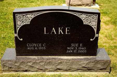 LAKE, SUE E - Richland County, Ohio | SUE E LAKE - Ohio Gravestone Photos