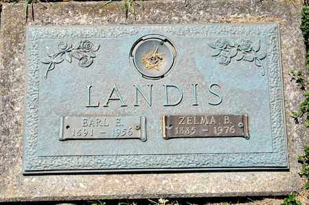 LANDIS, ZELMA B - Richland County, Ohio | ZELMA B LANDIS - Ohio Gravestone Photos