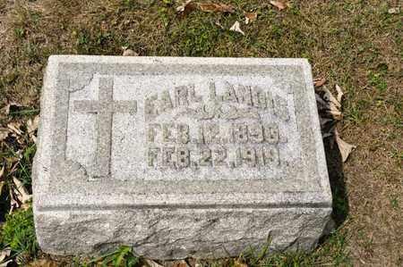 LANDIS, EARL - Richland County, Ohio | EARL LANDIS - Ohio Gravestone Photos