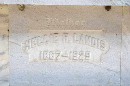 LANDIS, NELLIE R - Richland County, Ohio | NELLIE R LANDIS - Ohio Gravestone Photos