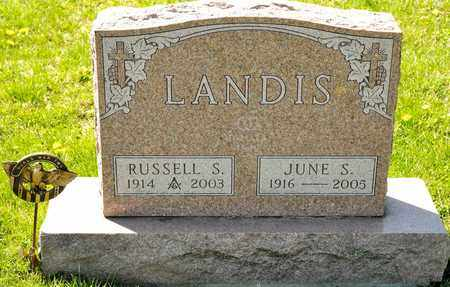 LANDIS, JUNE S - Richland County, Ohio | JUNE S LANDIS - Ohio Gravestone Photos