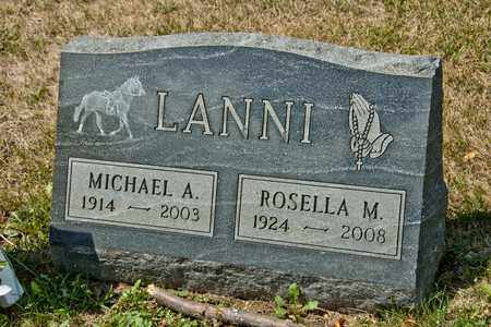 LANNI, ROSELLA M - Richland County, Ohio | ROSELLA M LANNI - Ohio Gravestone Photos
