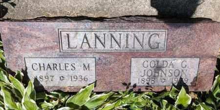 LANNING, GOLDA G - Richland County, Ohio | GOLDA G LANNING - Ohio Gravestone Photos