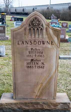 LANSDOWNE, WILLIAM - Richland County, Ohio | WILLIAM LANSDOWNE - Ohio Gravestone Photos