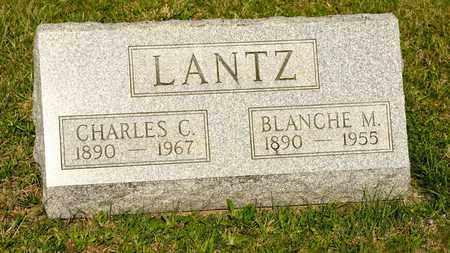 LANTZ, CHARLES C - Richland County, Ohio | CHARLES C LANTZ - Ohio Gravestone Photos