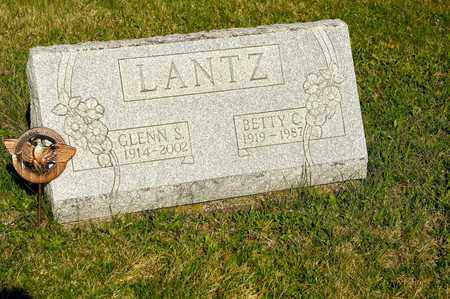 LANTZ, BETTY C - Richland County, Ohio | BETTY C LANTZ - Ohio Gravestone Photos