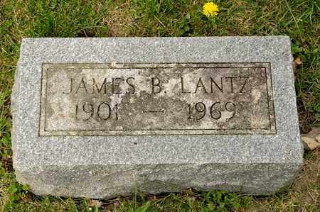 LANTZ, JAMES B - Richland County, Ohio | JAMES B LANTZ - Ohio Gravestone Photos