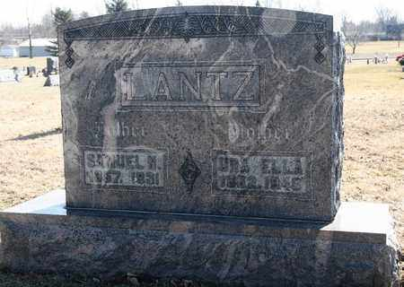 LANTZ, SAMUEL N - Richland County, Ohio | SAMUEL N LANTZ - Ohio Gravestone Photos