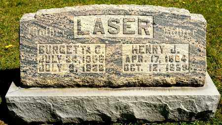 LASER, HENRY J - Richland County, Ohio | HENRY J LASER - Ohio Gravestone Photos