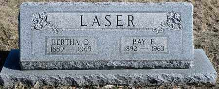 LASER, BERTHA D - Richland County, Ohio | BERTHA D LASER - Ohio Gravestone Photos