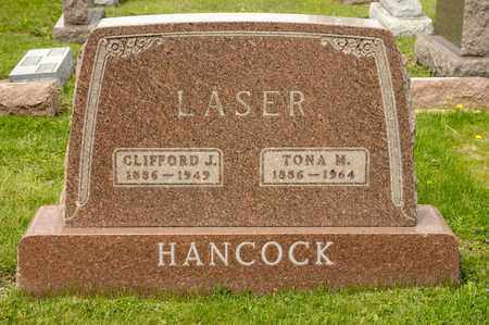 LASER, CLIFFORD J - Richland County, Ohio | CLIFFORD J LASER - Ohio Gravestone Photos