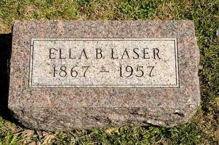 LASER, ELLA B - Richland County, Ohio | ELLA B LASER - Ohio Gravestone Photos