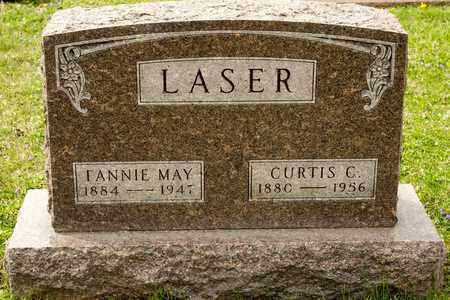 LASER, FANNIE MAY - Richland County, Ohio | FANNIE MAY LASER - Ohio Gravestone Photos