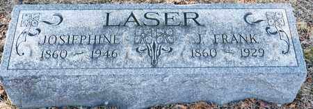 LASER, J FRANK - Richland County, Ohio | J FRANK LASER - Ohio Gravestone Photos