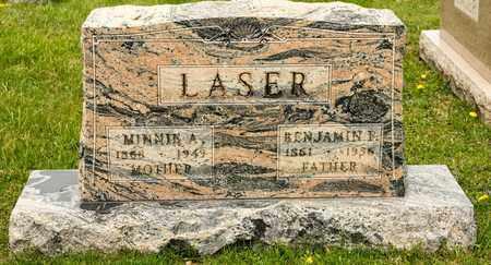 LASER, BENJAMIN F - Richland County, Ohio | BENJAMIN F LASER - Ohio Gravestone Photos