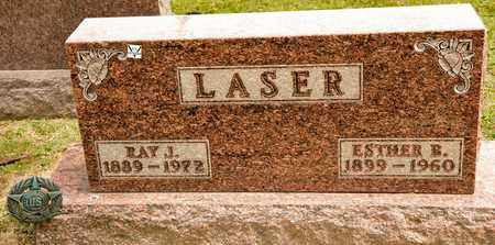 LASER, ESTHER B - Richland County, Ohio | ESTHER B LASER - Ohio Gravestone Photos