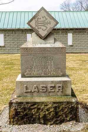 LASER, T J - Richland County, Ohio | T J LASER - Ohio Gravestone Photos