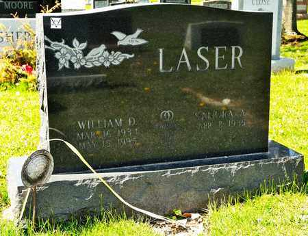 LASER, WILLIAM D - Richland County, Ohio | WILLIAM D LASER - Ohio Gravestone Photos