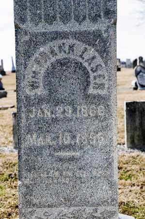 LASER, WILLIAM FRANK - Richland County, Ohio | WILLIAM FRANK LASER - Ohio Gravestone Photos