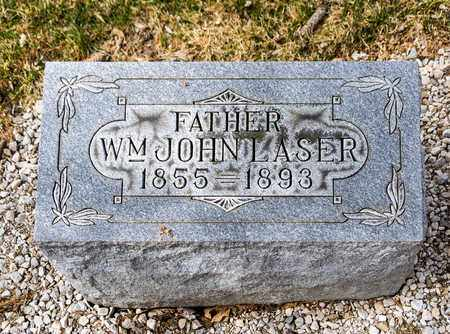 LASER, WILLIAM JOHN - Richland County, Ohio | WILLIAM JOHN LASER - Ohio Gravestone Photos