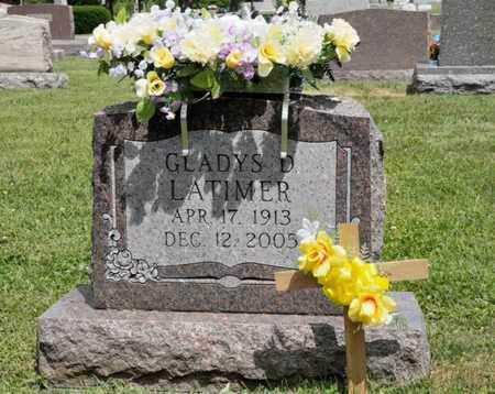 LATIMER, GLADYS D - Richland County, Ohio | GLADYS D LATIMER - Ohio Gravestone Photos