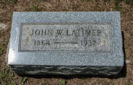 LATIMER, JOHN W - Richland County, Ohio | JOHN W LATIMER - Ohio Gravestone Photos