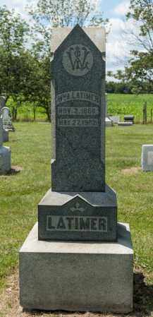 LATIMER, WILLIAM A - Richland County, Ohio | WILLIAM A LATIMER - Ohio Gravestone Photos