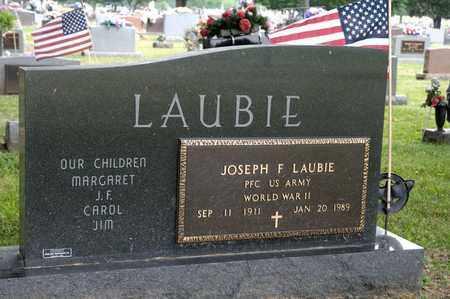 LAUBIE, JOSEPH F - Richland County, Ohio | JOSEPH F LAUBIE - Ohio Gravestone Photos