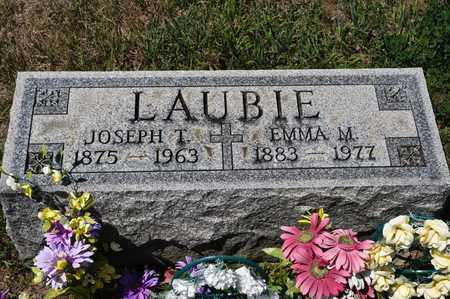 LAUBIE, EMMA M - Richland County, Ohio | EMMA M LAUBIE - Ohio Gravestone Photos