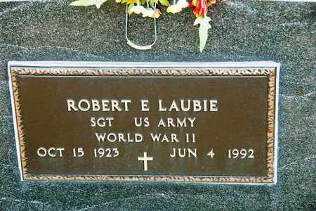 LAUBIE, ROBERT E - Richland County, Ohio | ROBERT E LAUBIE - Ohio Gravestone Photos