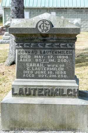 LAUTERMILCH, CONRAD - Richland County, Ohio | CONRAD LAUTERMILCH - Ohio Gravestone Photos