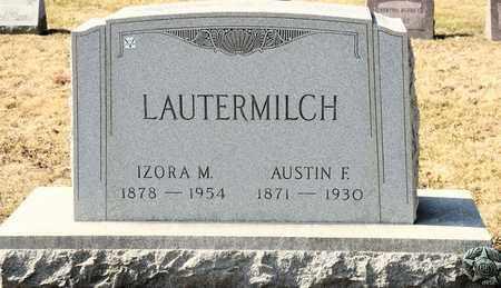 LAUTERMILCH, AUSTIN F - Richland County, Ohio | AUSTIN F LAUTERMILCH - Ohio Gravestone Photos
