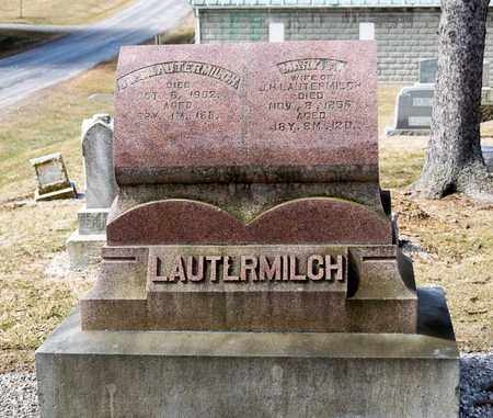 LAUTERMILCH, MARY A - Richland County, Ohio | MARY A LAUTERMILCH - Ohio Gravestone Photos