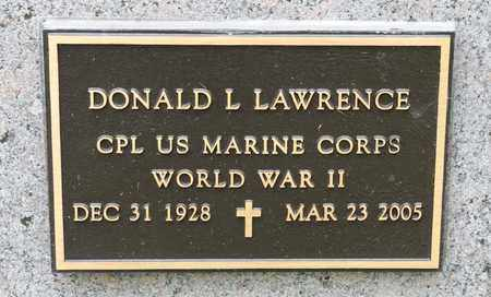 LAWRENCE, DONALD L - Richland County, Ohio | DONALD L LAWRENCE - Ohio Gravestone Photos