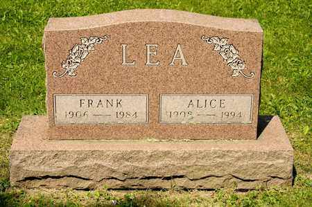 LEA, FRANK - Richland County, Ohio | FRANK LEA - Ohio Gravestone Photos