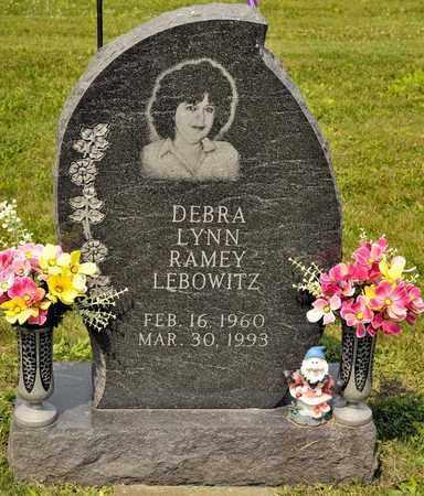 RAMEY LEBOWITZ, DEBRA LYNN - Richland County, Ohio | DEBRA LYNN RAMEY LEBOWITZ - Ohio Gravestone Photos