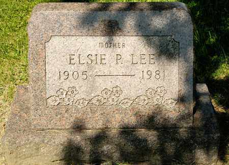 LEE, ELSIE P - Richland County, Ohio | ELSIE P LEE - Ohio Gravestone Photos