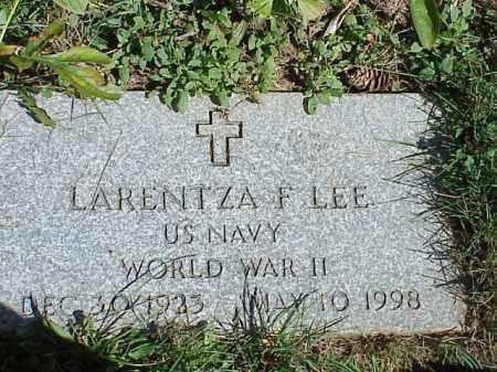 LEE, LARENTZA F. - Richland County, Ohio | LARENTZA F. LEE - Ohio Gravestone Photos