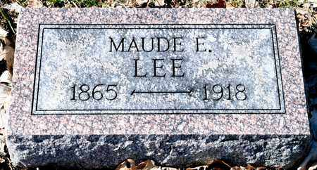 LEE, MAUDE E - Richland County, Ohio | MAUDE E LEE - Ohio Gravestone Photos