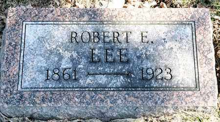 LEE, ROBERT E - Richland County, Ohio | ROBERT E LEE - Ohio Gravestone Photos