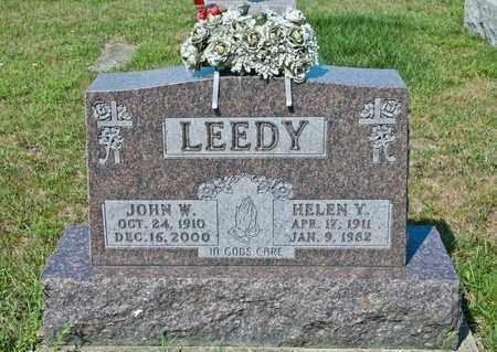 LEEDY, HELEN Y - Richland County, Ohio | HELEN Y LEEDY - Ohio Gravestone Photos