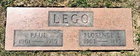 LEGO, PAUL - Richland County, Ohio | PAUL LEGO - Ohio Gravestone Photos