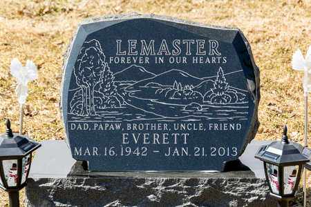LEMASTER, EVERETT - Richland County, Ohio | EVERETT LEMASTER - Ohio Gravestone Photos